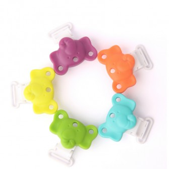clip silicone éléphant