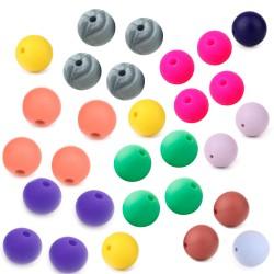 perles rondes silicones