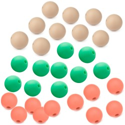 perles silicone 9mm lot