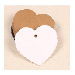 étiquettes coeur emballage