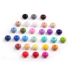 perles lentilles silicone
