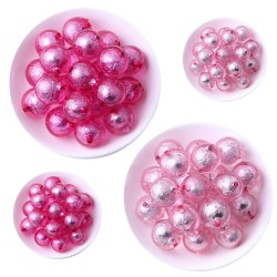 Perles rondes acryliques 16mm
