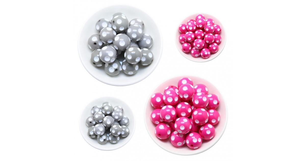 perles 3d acryliques
