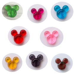 perles minnie mickey acrylique