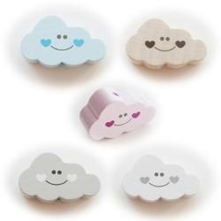 perles bois forme nuage