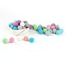 Photo principale perles au crochet 16 mm