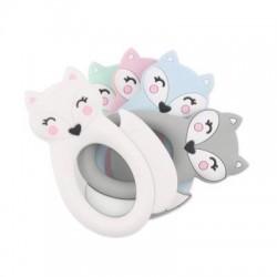Anneau dentition silicone modèle chats