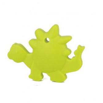 dinosaure silicone vert