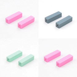 perles silicone rectangles
