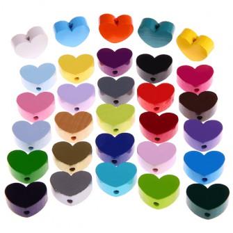 perles mini coeur
