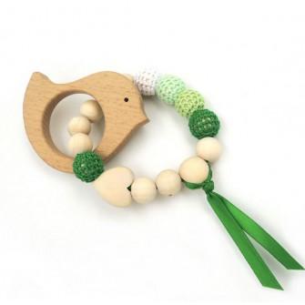 lot anneau de dentition oiseau bracelet