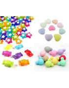 perles acrylique 3D à forme