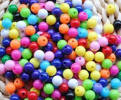 Perles rondes unies